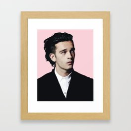 matty healy Framed Art Print