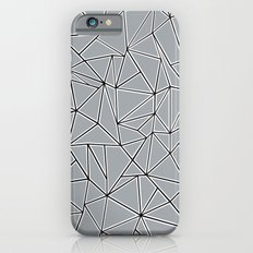 Abstraction Block Grey Slim Case iPhone 6s