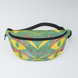 4 Eyed Feline - Yellow Fanny Pack