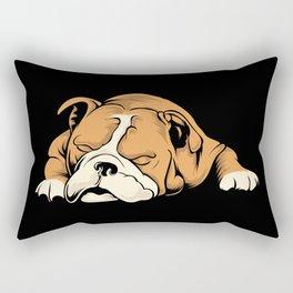 English Bulldog | Dog Lover Rectangular Pillow