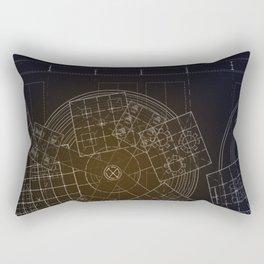 Archetype: Circle Rectangular Pillow
