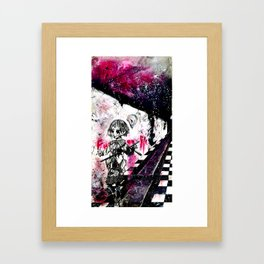 ...Smile and Die... Framed Art Print