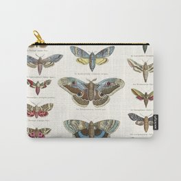 Vintage Moth Chart Carry-All Pouch