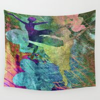 ballet Wall Tapestries featuring Ballet by Vitta