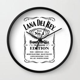 Lana DelRey Born To DIe Wall Clock
