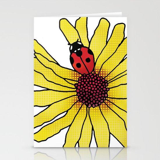 Little Lady Bug Stationery Cards