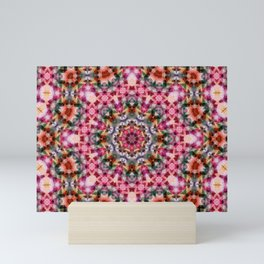 Oriental flavor , folklore , carpet Mini Art Print