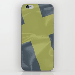 Silk Flag of Saint David iPhone Skin