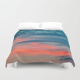 blue horizon Duvet Cover