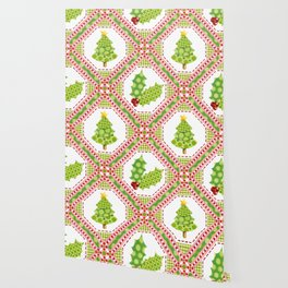 Polka Dot Christmas Wallpaper