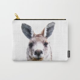 Kangaroo Portrait Carry-All Pouch