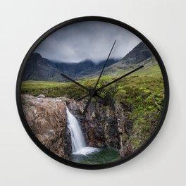 The Fairy Pools Wall Clock