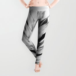 Gray and golden pineapple Leggings