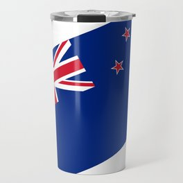 National flag of New Zealand - Authentic version to scale and color Travel Mug