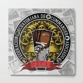 F.E.C.A. Metal Print