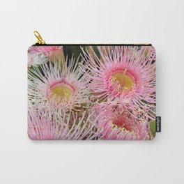 Pink Flowering Gum Carry-All Pouch