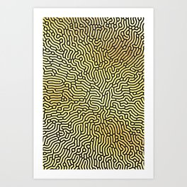 Abstract Pattern XIX Art Print