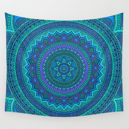 Hippie mandala 92 Wall Tapestry