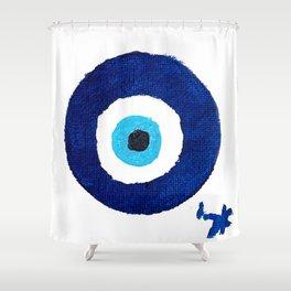 Ayin Hara Shower Curtain