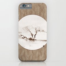 Scots Pine Paper Bag Sepia iPhone 6s Slim Case