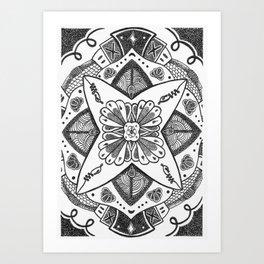 Mandala #1 Art Print