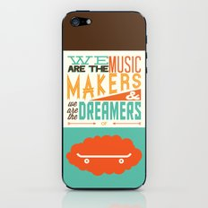 o'shaughnessy iPhone & iPod Skin