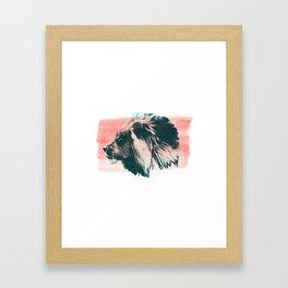 Leader Framed Art Print