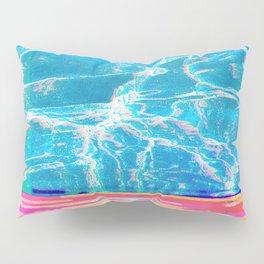 Water Glitch Pillow Sham