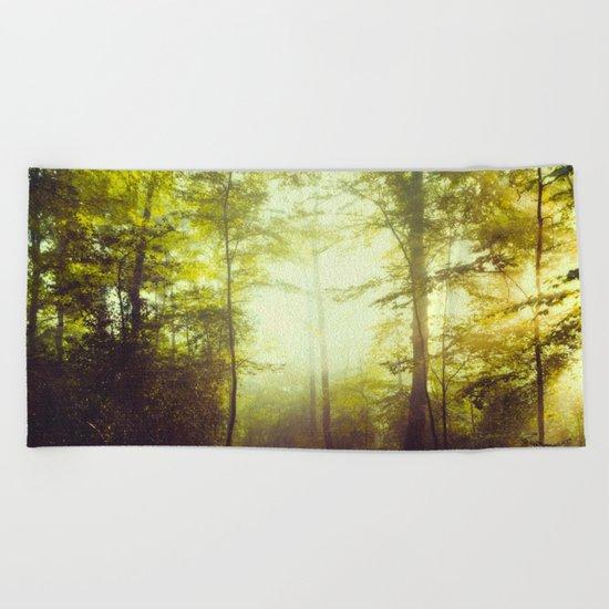 way of light Beach Towel