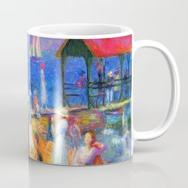 William Glackens Beach Scene Coffee Mug