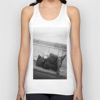 chill Tank Tops featuring chill by dominiknawrocki