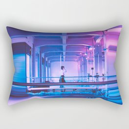 Glitchy Dreams Of You Rectangular Pillow