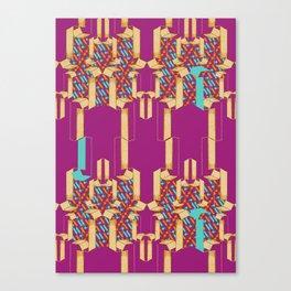 Number 1 - V2 Canvas Print