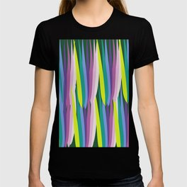 Tropical Leaves Summer Pattern T-shirt