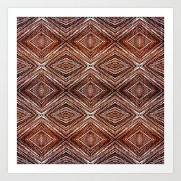 Memories of Woven Grass Art Print