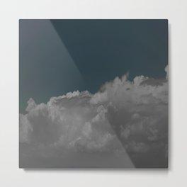 Cloudy blue Metal Print