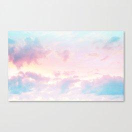 Unicorn Pastel Clouds #2 #decor #art #society6 Canvas Print