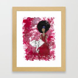 Delta Angel Framed Art Print