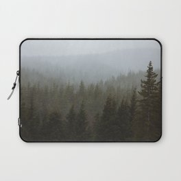 Snowy Forks Forest Laptop Sleeve