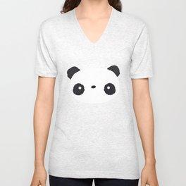 Panda in love Unisex V-Neck