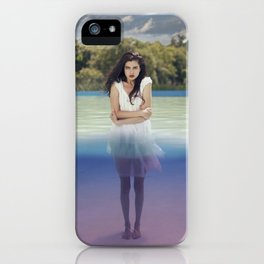 Beneath the surface iPhone Case