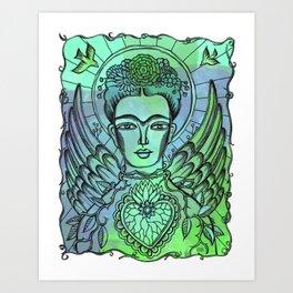 Angel Wings Art Prints Society6