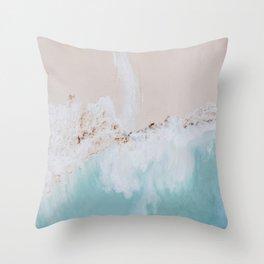 seashore iv / bali, indonesia Throw Pillow
