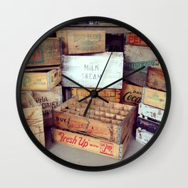 Boxed In Wall Clock