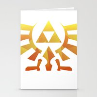 triforce Stationery Cards featuring Triforce by Wicttor