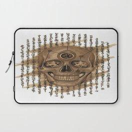 Life Skull Laptop Sleeve