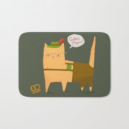 Oktoberfest Kitty Bath Mat
