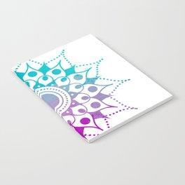 Mandala #2 (Purple Pink Turquiose) Notebook