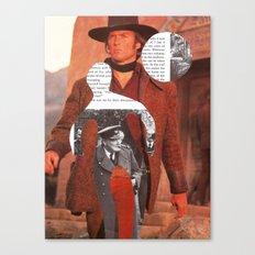 Media Landscape Walkers 4 Canvas Print