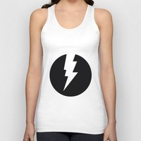 the flash Tank Tops featuring Flash by Mr and Mrs Quirynen